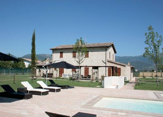 Casale Oscar 2,3,4,5 pers, een van onze vakantiehuizen in Umbrie