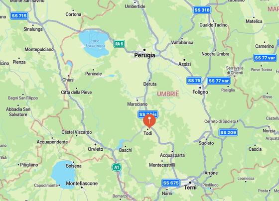 Agriturismo Torrio 2,4 pers, een van onze vakantiehuizen in Umbrie