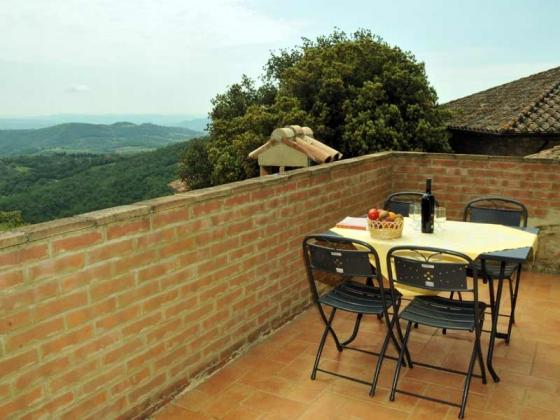 Il Belvedere, een van onze vakantiehuizen in Umbrie