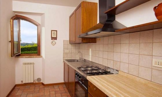 Appartement Paione (4+2 pers.), een van onze vakantiehuizen in Umbrie