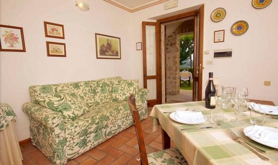 Appartement Scalinatella (2+2 pers.), een van onze vakantiehuizen in Umbrie