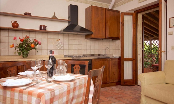 Appartement Sorbo (2+3 pers.), een van onze vakantiehuizen in Umbrie