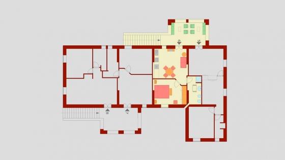 Appartement Balconcino (2+2 pers.), een van onze vakantiehuizen in Umbrie