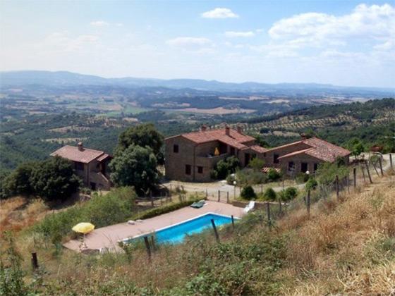 Appartement Castellaro, een van onze vakantiehuizen in Umbrie